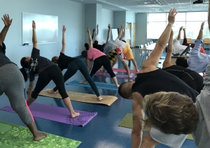 service week yoga